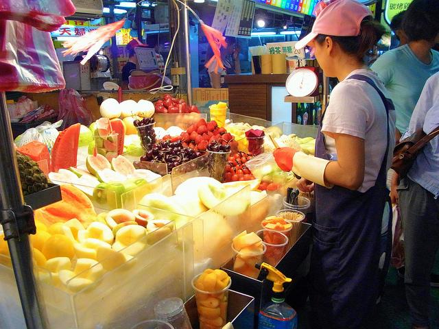 Night market at Taipei
